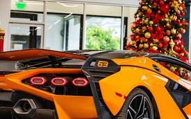 """""""Siêu phẩm"""" Lamborghini Sian đầu tiên cập bến Mỹ"""