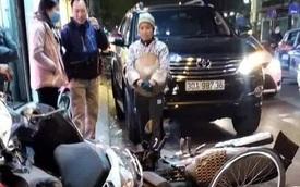 """Hà Nội: Nữ tài xế lái """"xe điên"""" tông hàng loạt xe máy giữa phố rồi bỏ trốn khỏi hiện trường"""