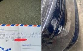 """Sơ ý làm xước sơn xe ô tô, """"thủ phạm"""" có hành động giản đơn nhưng đủ khiến chẳng ai giận nổi!"""