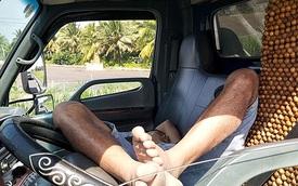 Tài xế dừng xe giữa cao tốc để… ngủ