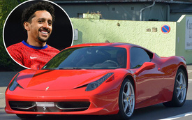 Để siêu xe Ferrari phủ bụi, anh chàng triệu phú sân cỏ vẫn thường lóc cóc vẫy taxi và lý do bất ngờ đằng sau