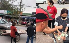 Chạy xe kéo va quệt ô tô, chàng trai phải đền và quyết định không ngờ từ những người dân xung quanh