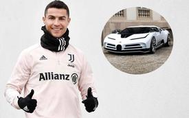Ronaldo sở hữu siêu xe Bugatti trị giá 223 tỷ đồng