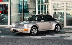 Cận cảnh chiếc Porsche 911 1992 mui trần của Diego Maradona được bán đấu giá tại Pháp?
