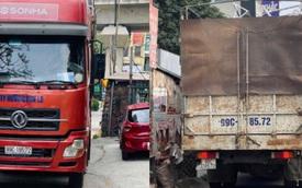 Lập biên bản phạt 17 triệu đồng xe container lùi trên đường vành đai 3