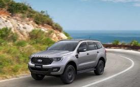 Giá lăn bánh các phiên bản Ford Everest 2021 tại Việt Nam