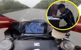 Xác định tài xế chạy 299km/h trên đại lộ Thăng Long: Không có bằng lái do làm mất