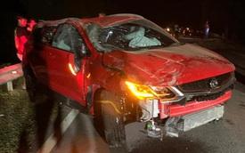 Nhân viên sale chạy 180 km/h, phá nát xe của khách trên đường đi giao