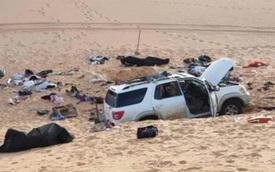 Đi tuần tra phát hiện chiếc xe ô tô đỗ trên sa mạc, cảnh sát lại gần và phát hiện cảnh tượng ám ảnh