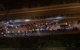 """Khoảng 70 """"quái xế"""" chặn đường, đua xe trên cao tốc TP.HCM - Long Thành - Dầu Giây khiến người dân khiếp sợ"""