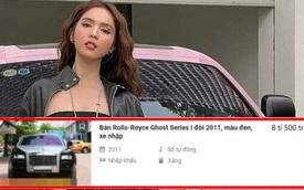 Siêu xe Rolls-Royce mới tậu của Ngọc Trinh thực ra chỉ là dòng đã qua sử dụng, giá không đến 30 tỷ đồng?