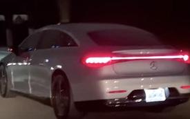 Mercedes-Benz EQS xuất hiện trên phố - đúng chất xe của tương lai