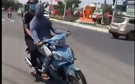 """Bịt mắt lái xe cho """"ngầu"""", nam thanh niên Đà Nẵng bị phạt 7,5 triệu đồng"""