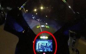 Chạy xe mô-tô hơn 250 km/giờ, tài xế gặp tai nạn thảm khốc