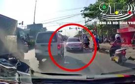 """""""Chiếc xe ô tô ngang ngược"""" nhất phố, gây phiền hà cho biết bao người"""