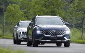 5 xe gầm cao bán chạy tháng 5/2021: Hyundai Santa Fe lần đầu lên đỉnh
