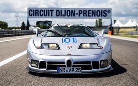 Bugatti EB110 trở lại đường đua sau 25 năm vắng bóng