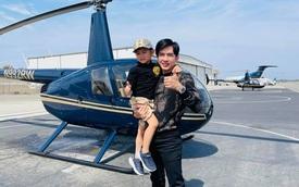 Rich kid ở Mỹ kiểu quý tử nhà Đan Trường: Đi trực thăng dạo phố, mê siêu xe và tận hưởng cuộc sống chuẩn giới thượng lưu