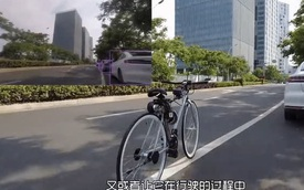 Chạy xe đạp bị ngã sấp mặt, chàng kỹ sư quyết định chế tạo xe đạp tự cân bằng cho khỏi té nữa