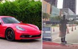Lái xe sang đi qua chốt kiểm tra, chủ xe sững sờ khi nhận được yêu cầu lạ từ phía cảnh sát