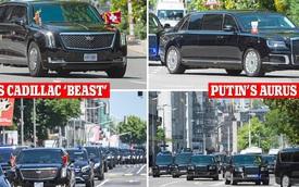 So sánh đoàn xe tổng thống Mỹ Joe Biden và tổng thống Nga Vladimir Putin - có gì đặc biệt?