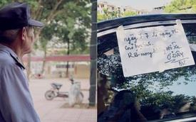 Ô tô đỗ trước cổng trường và lời nhắn của bác bảo vệ khiến các sĩ tử cảm động