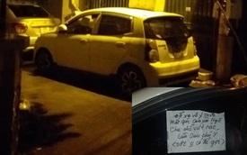 """Vừa hết giãn cách, chủ ô tô đã nhận một tờ giấy nhắc nhở """"ngượng chín mặt"""" - đọc rồi ghi nhớ!"""