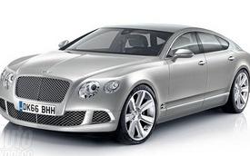 Bentley lên kế hoạch sản xuất coupe bốn cửa