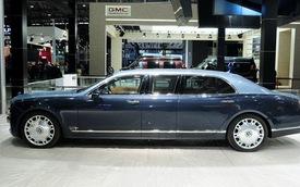 Bentley Mulsanne siêu dài và siêu an toàn tại Thượng Hải