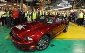 Chiếc Ford Mustang thứ 1 triệu xuất xưởng
