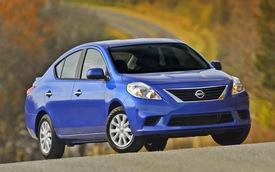 Nissan Versa Sedan 2014: Cải tiến nhỏ, giữ nguyên giá