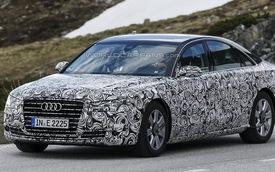 Audi A8 phiên bản cập nhật xuất hiện trên đường thử