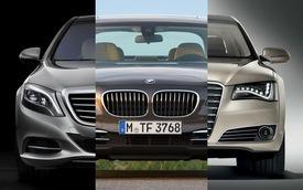 """""""Tam quốc chiến"""" giữa ba sedan hạng sang Đức"""