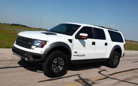 Phù phép Ford F-150 Raptor thành SUV 8 ghế