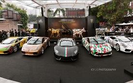 Lamborghini tổ chức tiệc sinh nhật tại Hồng Kông