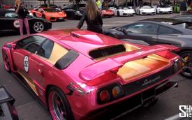 Lamborghini bốn phương hội ngộ mừng sinh nhật
