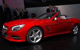 Mercedes-Benz tiếp tục dẫn trước BMW tại Mỹ trong tháng 4