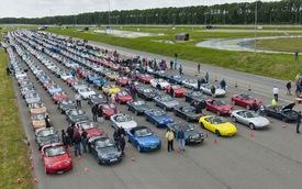 Mazda MX-5 lập kỷ lục thế giới mới