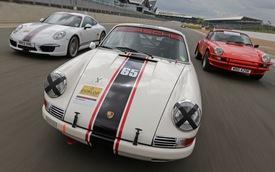 Cuộc diễu hành lịch sử của Porsche 911