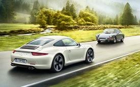 Porsche 911 phiên bản kỷ niệm sinh nhật 50 tuổi