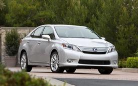 Lexus HS 250h và Toyota Prius dính án thu hồi