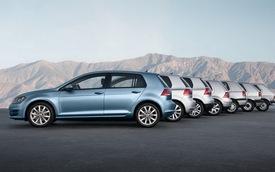Đã có 30 triệu chiếc Volkswagen Golf xuất xưởng