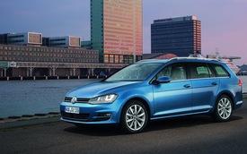 Chi tiết Volkswagen Golf Variant: Khoang hành lý cực rộng
