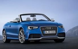 Audi RS5 Cabriolet 2014 đến Mỹ với giá từ 78.795 USD