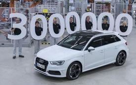 Audi xuất xưởng chiếc A3 thứ 3 triệu