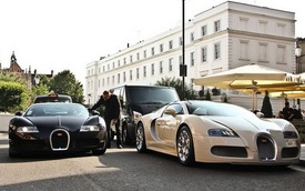"""""""Rừng"""" siêu xe tập trung tại London"""