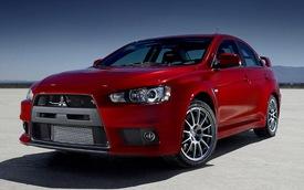 Mitsubishi Lancer Evolution 2014 có giá từ 35.820 USD