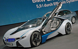 BMW i8 sẽ bán ra ngay sau BMW i3