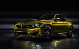"""BMW M4 Coupe Concept - """"Gương mặt"""" mới, đẳng cấp mới"""