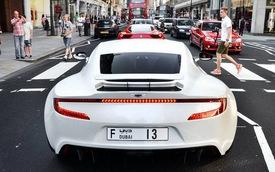 Những siêu xe tuyệt nhất tại London